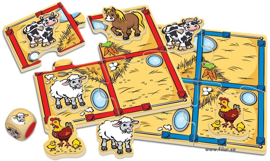 barndbils spel för små barn
