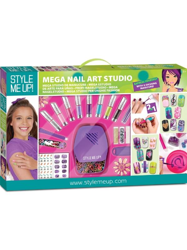 Style Me Up Nail Art Studio: Salon pretty nails with sally hansen ...