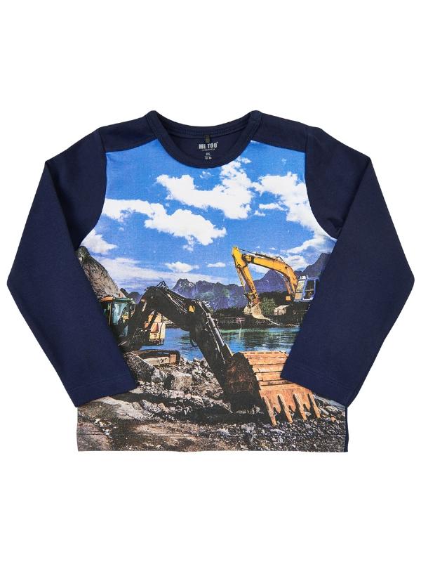 MeToo T-shirt LS Grävmaskin   Överdelar   - Filur 5985f9d24c75b