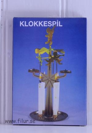 Änglaspel i metall, traditionell