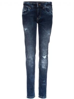 LMTD Jeans nitEnders reg/slim denimblå