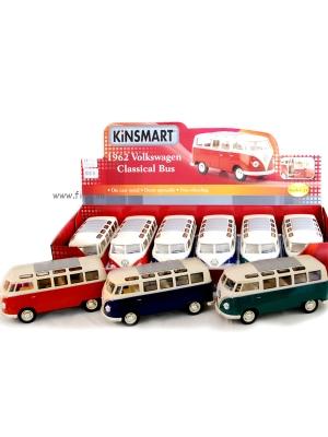 Stor Folkabuss i metall - 1962 Volkswagen Classical Bus