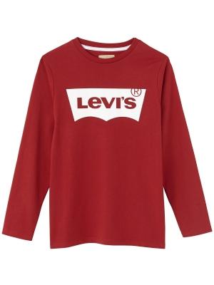 LEVI'S Långärmad T-SHIRT LS Röd 86-176 cl