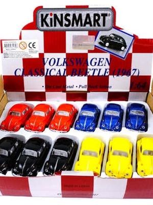 Mini Folkabil i metall - Classic Volkswagen Beetle 1967