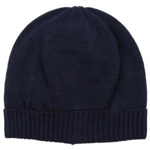 Mössa 100% Wool - Marinblå