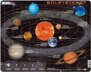 Pussel Solsystemet - 70 bitar