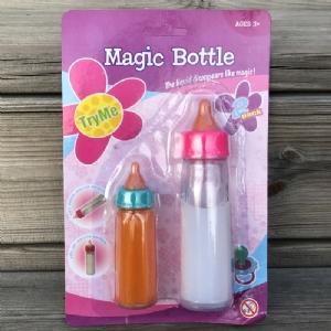 Magisk Nappflaska för Docka 2-pack