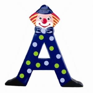 Clown bokstäver A-Ö, L