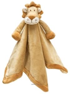 Teddykompaniet Diinglisar Snuttefilt Wild Lejon