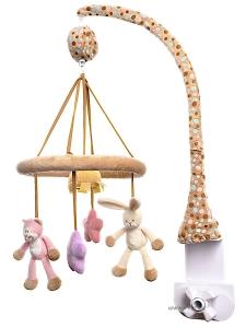 Teddykompaniet Musik Mobil Katt o Kanin