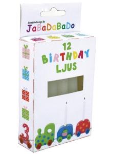 Födelsedagsljus till födelsedagståg 12-p