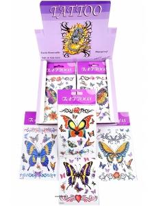 Tatueringar fjärilar