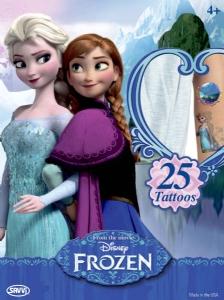 Tatueringar - Frozen / Frost 25st