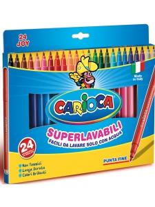 Carioca Fiberpennor 24-pack