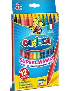 Carioca Fiberpennor 12-pack