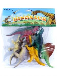 Dinosaurier i påse 6-pack