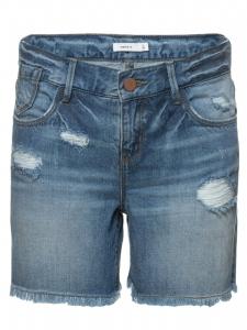LMTD JeansShorts nitBaran denimblå