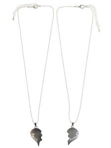 Halsband nitacc-Lis silver Best Friends