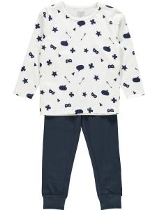 Pyjamas nmmNightset mini vitprint/marinb