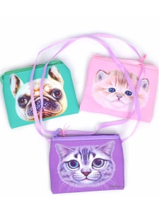 Väska liten med djur