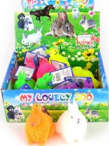 Puffer Rabbit / Taggig mjuk kanin