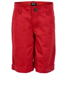 Röda Shorts Bermuda Twill