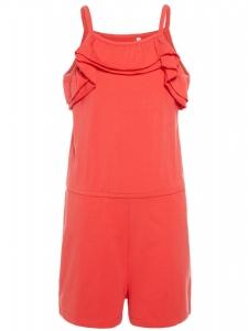 Strap Suit Pia / Shortsdräkt Röd EKO