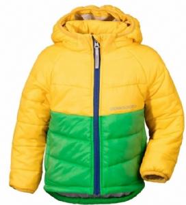 Didriksons Jacka Sunne gul/grön