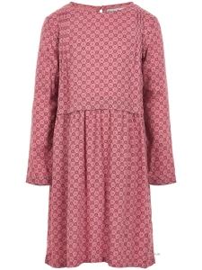 Dress LS w. AOP