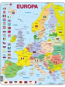 Pussel Europa