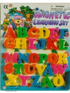 Bokstäver med magnet A-Ö