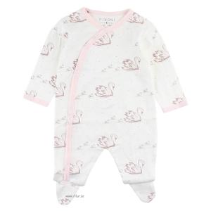 Fixoni Prematur Sparkdräkt / Pyjamas Svanar 44 cl