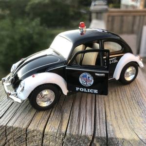 Polisbil VW Bubbla i metall - 1967 Volkswagen Clas...
