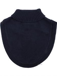 Fuskpolo 100% Wool - Marinblå